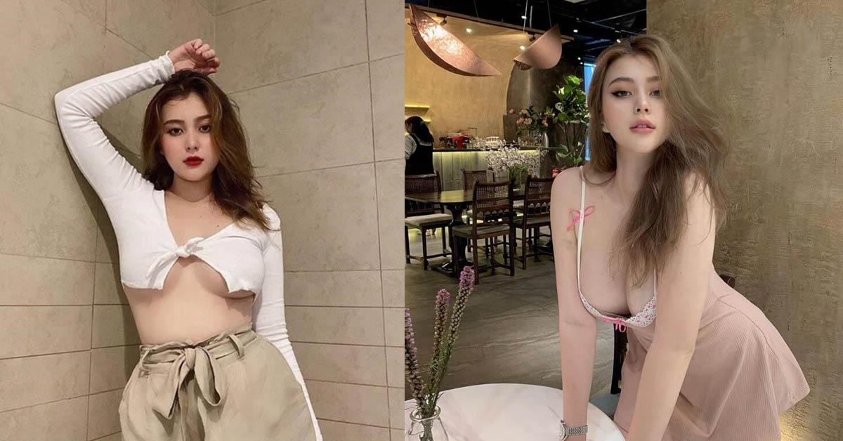 """Hot girl Suna vòng 1 khủng, body bốc lửa vẫn không ngại khoe mặt mộc khiến CĐM """"chao đảo"""