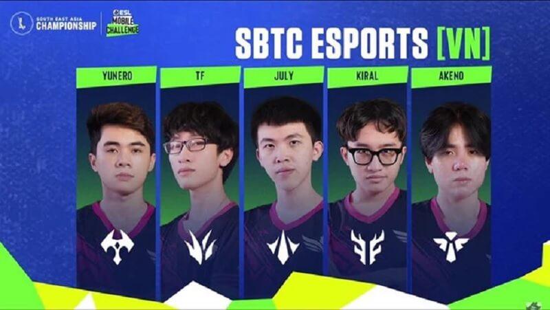 Tốc Chiến SEA Championship 2021 SBTC Esports của Việt Nam nắm chắc tấm vé đi Chung kết