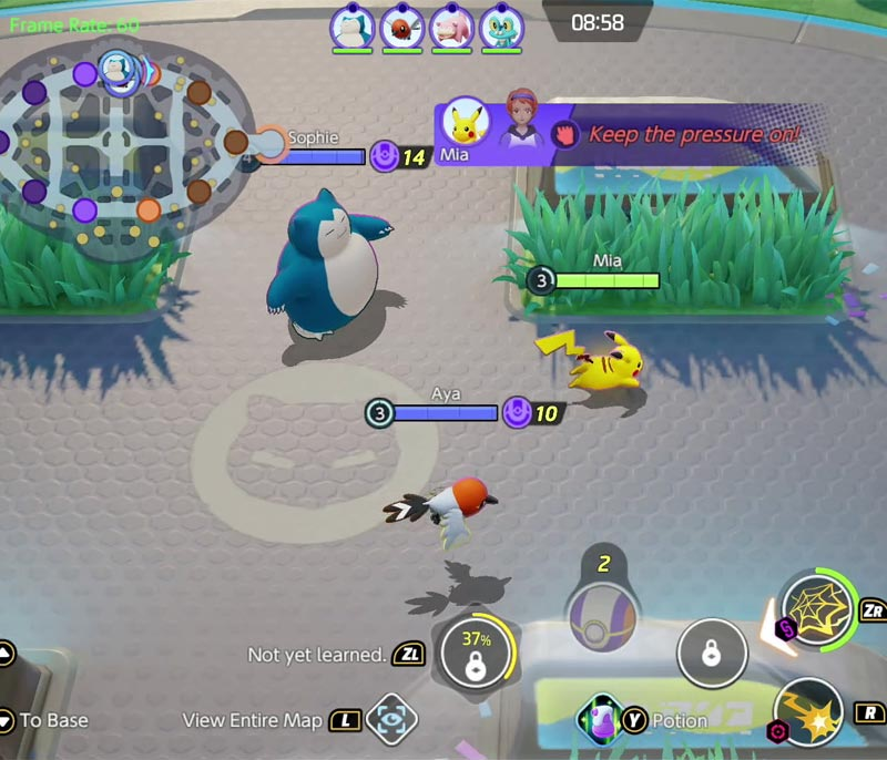 Bản đồ Pokemon Unite