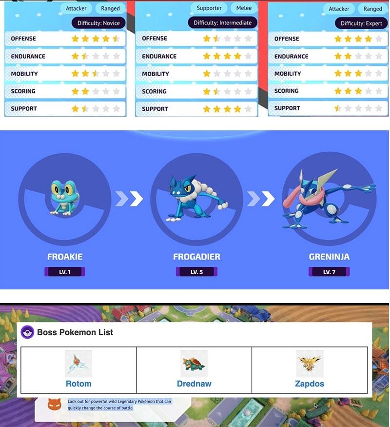Hướng dẫn chơi Pokemon Unite