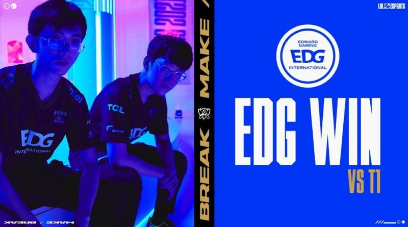 Vòng Bảng CKTG 2021 ngày 2 EDG thắng